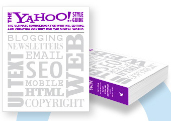 "Yahoo releases a ""style guide for the web"""